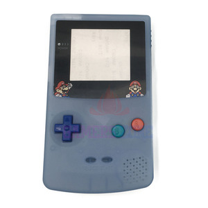 Image 4 - Пластиковый светящийся чехол с полным покрытием для ограниченной серии флуоресцентный чехол для GBC Gameboy цветной светящийся чехол