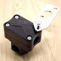 Black Handlebar Stand Post Clamp Riser For Ruckus Zoomer Scooter NPS50 parts
