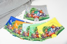 6pcs/lot  Underpants Briefs for Boys Underwears Panties Infant Boxer Synthetic cotton Teenagers 3-8 Y baby panty