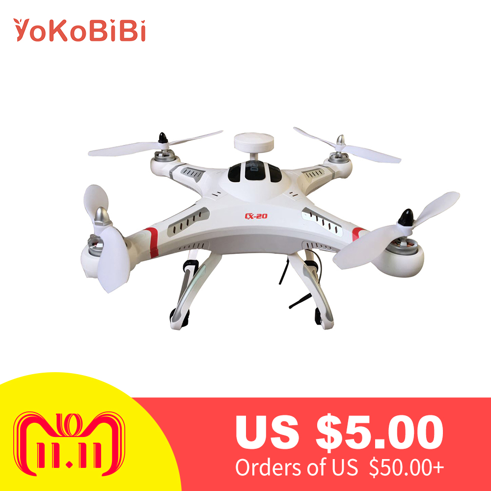 Cheerson CX-20 Auto-Pathfinder 2.4GHz 4CH 6-Axis Gyro RC Quadcopter with GPS and Headless Mode Free Shipping cheerson cx 20 drones auto pathfinfer open source flight controller 2 4ghz 4ch 6 axis rc quadcopter with gps helicopter drone