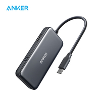 Anker USB C Hub,3 in 1 Type C Hub,4K USB C to HDMI Adapter,USB 3.0, 60W Power Delivery Charging Port for MacBook Pro and others