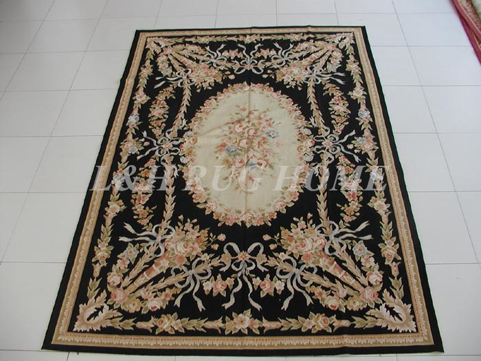 French Woolen Aubusson Rug