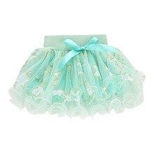 Новинка; модная летняя фатиновая юбка-пачка для маленьких детей; пышная короткая многослойная юбка-пачка; бальное платье; ; ; Z5