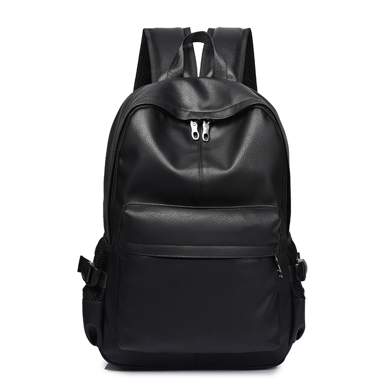 Men Backpack Teenager Designer High-Quality New-Fashion Luxury Male PU