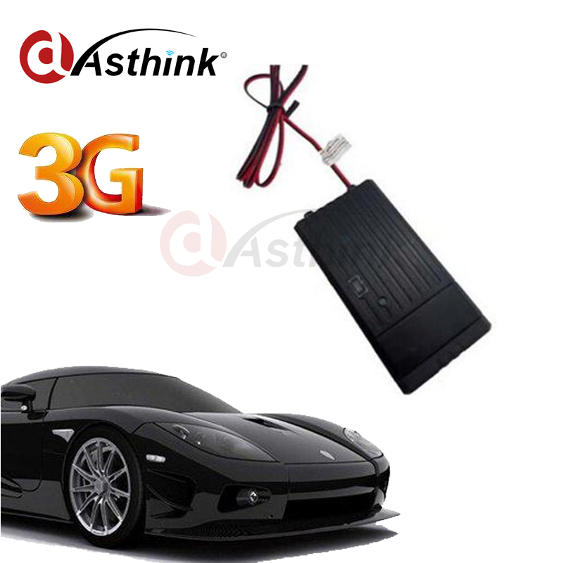 T8124G WCDMA 3G Car GPS Tracker With External GPS ANTENNA Vibration Motion Sensor Geo Fence Alert