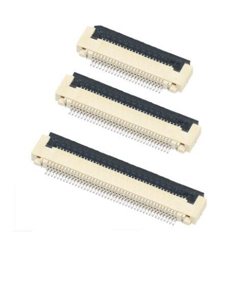 10 шт гнезда соединителя FPC FFC 0,5 мм раскладушка нижний контактный тип 4-40pin