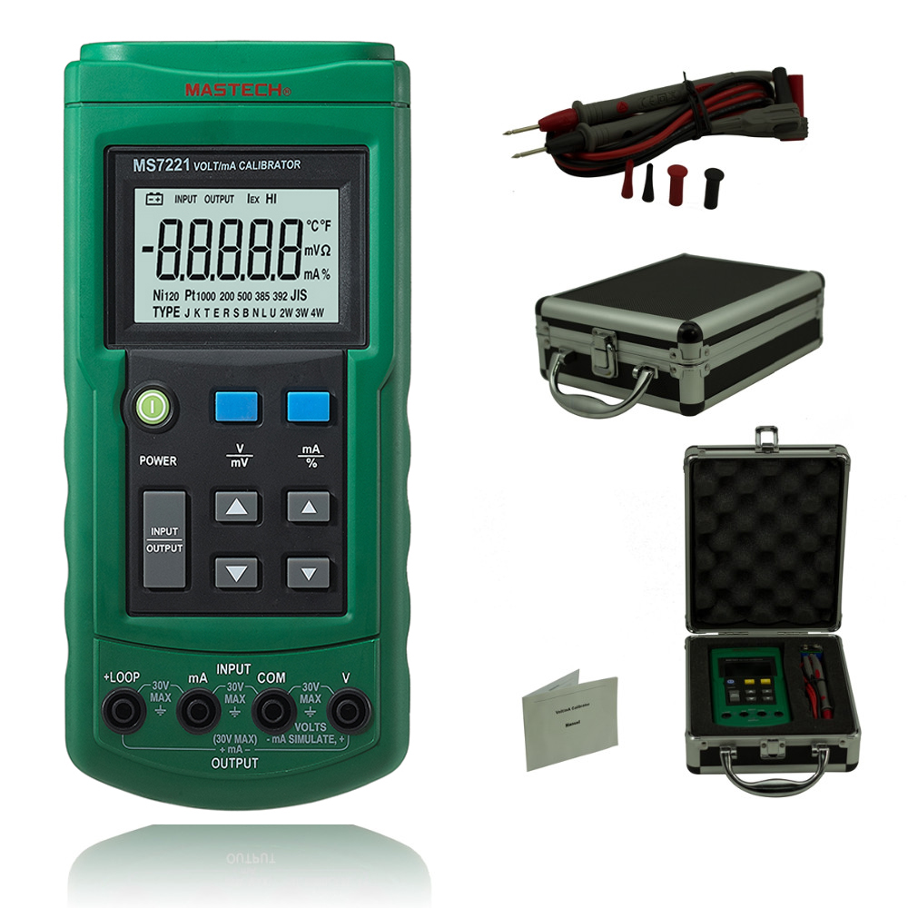 Professional multifunction calibrator Volt/mA Voltage Current Calibrator DC 0-10V 0-24mA Tester Voltage and current calibrator