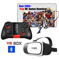 HOT Google cardboard VR BOX II 2.0 Version Virtual Reality 3D Glasses + Smart Bluetooth 3.0 Wireless Remote Control Gamepad