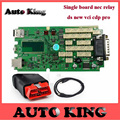 2pc+DHL FREE ship ! with 2015 R1 quality A+ DS new vci CDP PRO Without bluetooth single green board for cars and trucks obd tool