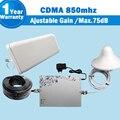 1 Conjunto MGC ALC CDMA 850 Mobile Phone Signal Repetidor Celular Impulsionador GSM Amplificador Repetidor De Sinal Celular 850 mhz