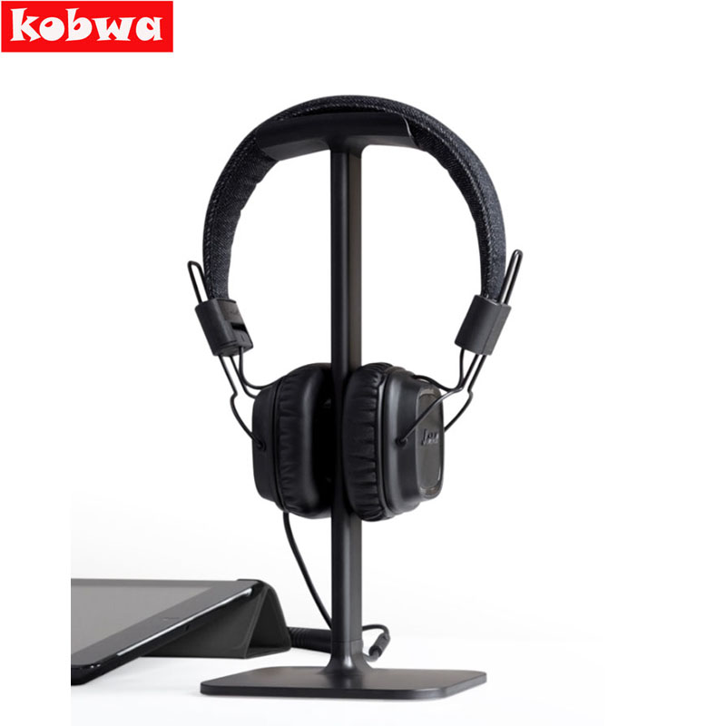 Universal Aluminum Headphone Stand Headset Holder Earphone Stand Bar Mount Super