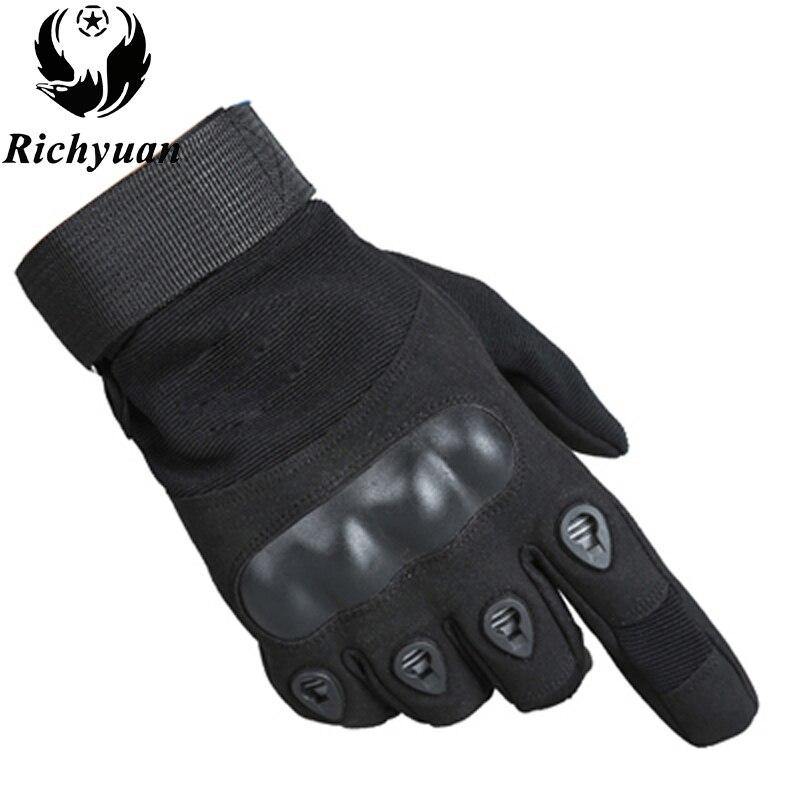 Armee Militärische Taktische Handschuhe Paintball Airsoft Schießen Kampf Anti-Skid Fahrrad Fest Knuckle Volle Finger Handschuhe