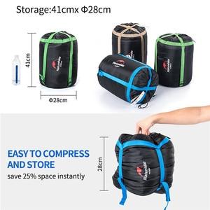 Image 3 - Naturehike Couples Double Sleeping Bags Outdoor Camping Hiking Sleeping Bag 2.15m*1.45m Portable Sleeping Bag Pillow