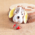 New Delicate Key Pendant Lovely Woman Car Key Ms  Bao Shipin 12 Zodiac Car Key Ring Exaggerated Dog Modeling