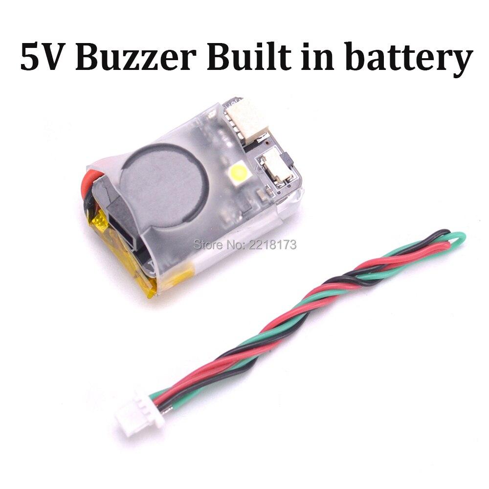 JHE42B Finder 5 v Super Laute Summer Tracker 110dB mit LED Summer Alarm Gebaut in batterie Für RC FPV Drone flight Controller