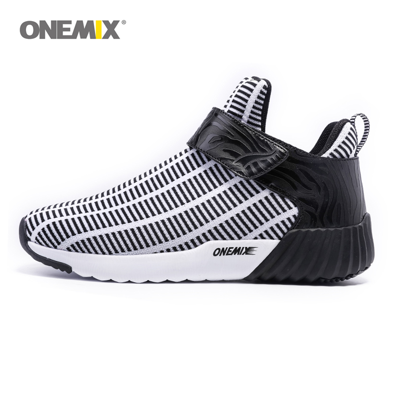 Onemix warm height increasing shoes winter men women sports shoes outdoor men s running shoes Jogging