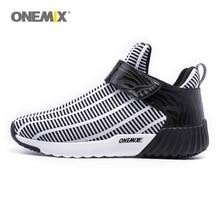 Onemix warm height increasing shoes winter men & women sports outdoor mens running Jogging and walking 1190