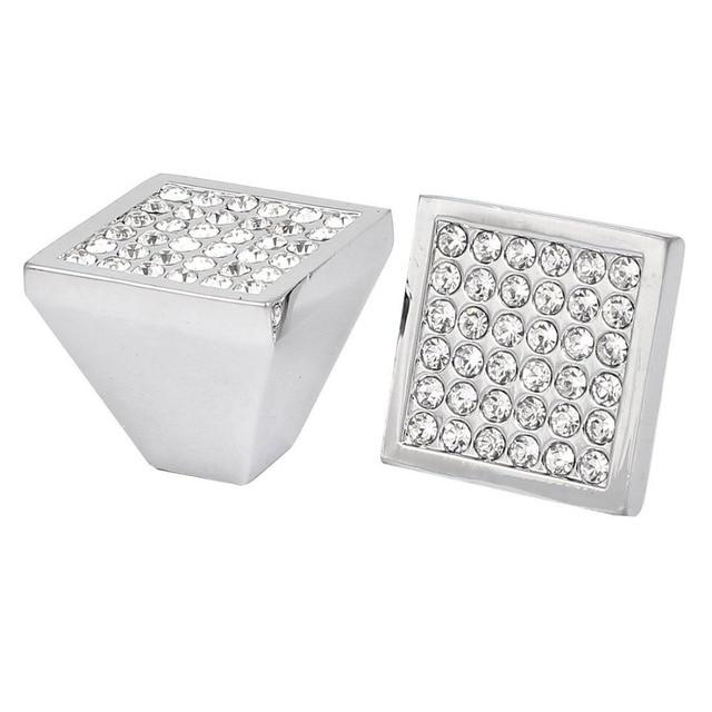 25mm cristal moderno diamante puerta tiradores perilla cocina ...