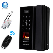 OBO ידיים טביעות אצבע ביומטרי מנעול דלת חכם דיגיטלי אלקטרוני דלת מנעול טביעת אצבע אימות עם סיסמא & RFID Unlok