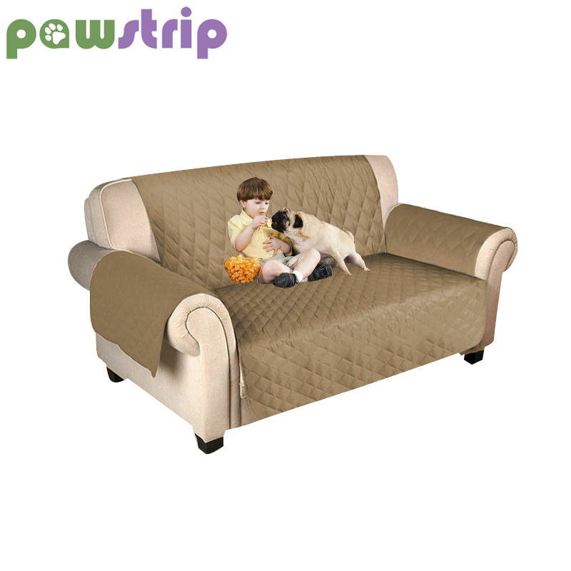 US $15.99 20% OFF|pawstrip 7 Colors Couch Slipcover Waterproof Dog Sofa  Protector Puppy Mat With Elastic Strap 3 Sizes Sofa Bed For Pets Kids-in ...