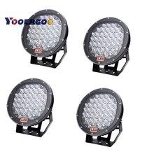 185w 9inch Red Black round led driving light 9″ led off road light Super power led work light for SUV ATV UTV 4X4 4wd car x4pc
