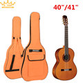 """40"""" / 41"""" Portable Waterproof Backpack Oxford Fabric Acoustic Guitar Double Straps Padded Guitar Soft Case Gig Bag"""