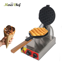 цена на ITOP 1000W Electric Egg Bubble Waffle Maker Machine,Waffle Iron Maker Non-stick Teflon Cake Maker Oven EU/UL Plug IT-547