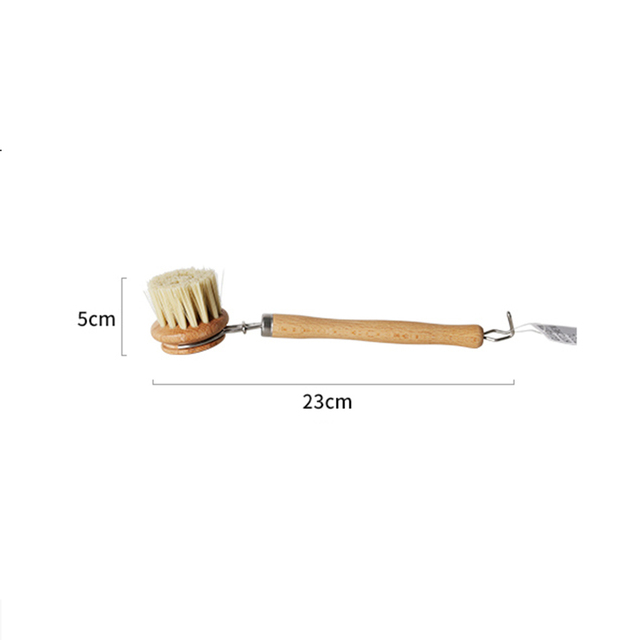 Natural Beech PP Cleaning Wooden Brush 6