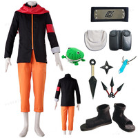 Halloween Naruto Cosplay Costumes Naruto Full set Weapon accessories