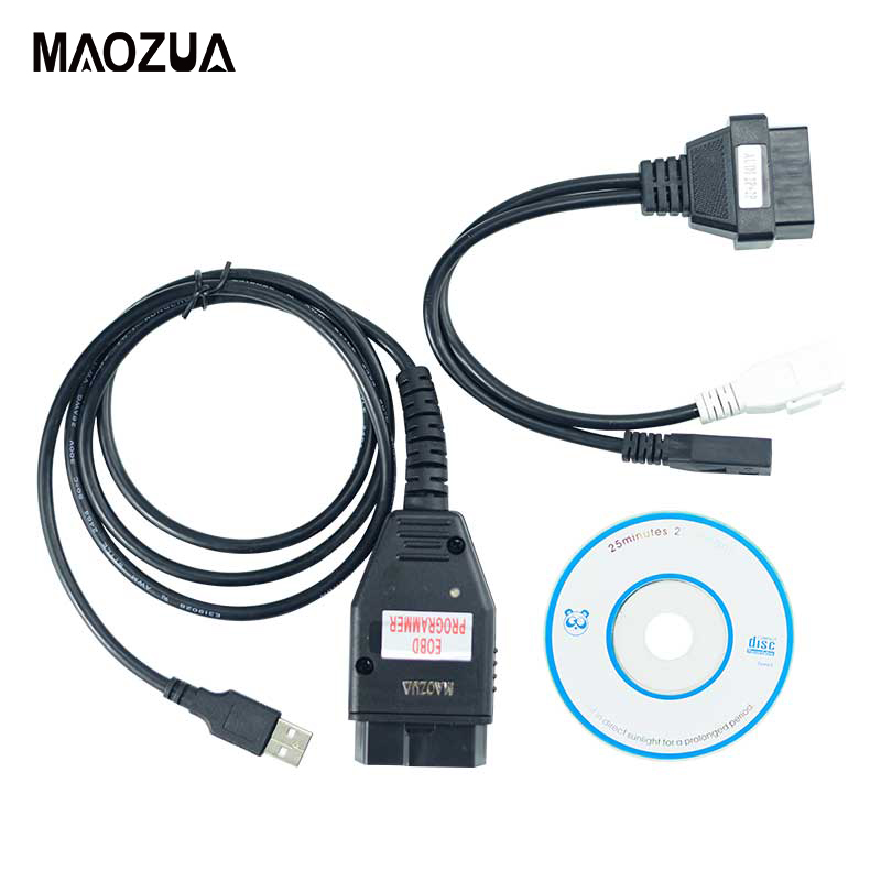 ЭБУ Remap Flasher инструмент EOBD OBD2 адаптер Galletto 1260 Чип ECU Тюнинг автомобиля диагностический кабель