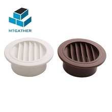 MTGATHER круглое вентиляционное отверстие ABS вентиляционная решетка крышка PP вентиляционная решетка воздуха 100 мм Отопление охлаждения и вентиляционные отверстия