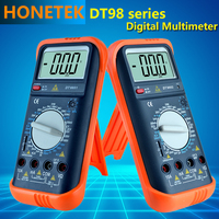 DT Series Professional Handheld Tester Meter, digital multimeters 1999 Max display AC Voltmeter Continuity Battery Diode meter