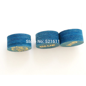 Image 5 - Xmlivet送料無料10ピース斬14ミリメートルブループロフェッショナルビリヤードプールのキュー先端s/m/h 8層革ビリヤード用品中国