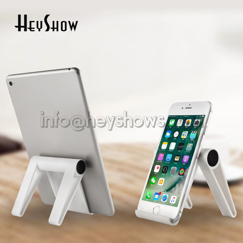 10x Universal White Phone Stand Flexible Pink Iphone Desk Holder Blue Tablet Table Stand Portable Orange Mobile Phone Display 1 set angel eye hot car auto metal led power push button switch reset type on off 3v 5v 6v 12v 24v 48v 110 220v 16mm waterproof