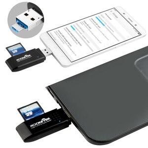 Image 4 - Rocketek usb 3,0 multi 2 en 1 OTG teléfono lector de Tarjeta 5 Gbps adaptador para SD TF micro SD ordenador portátil pc Accesorios