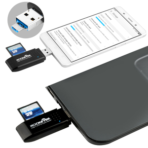 Image 4 - Rocketek usb 3.0 multi 2 in 1 memory OTG phone card reader 5Gbps adapter for SD TF micro SD pc computer laptop accessories