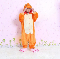 Freepp Pop Anime Pokemon Charizard Jumpsuit Pajamas Pyjamas Costume Charmander Fire Dragon Child Unisex Onesie Party