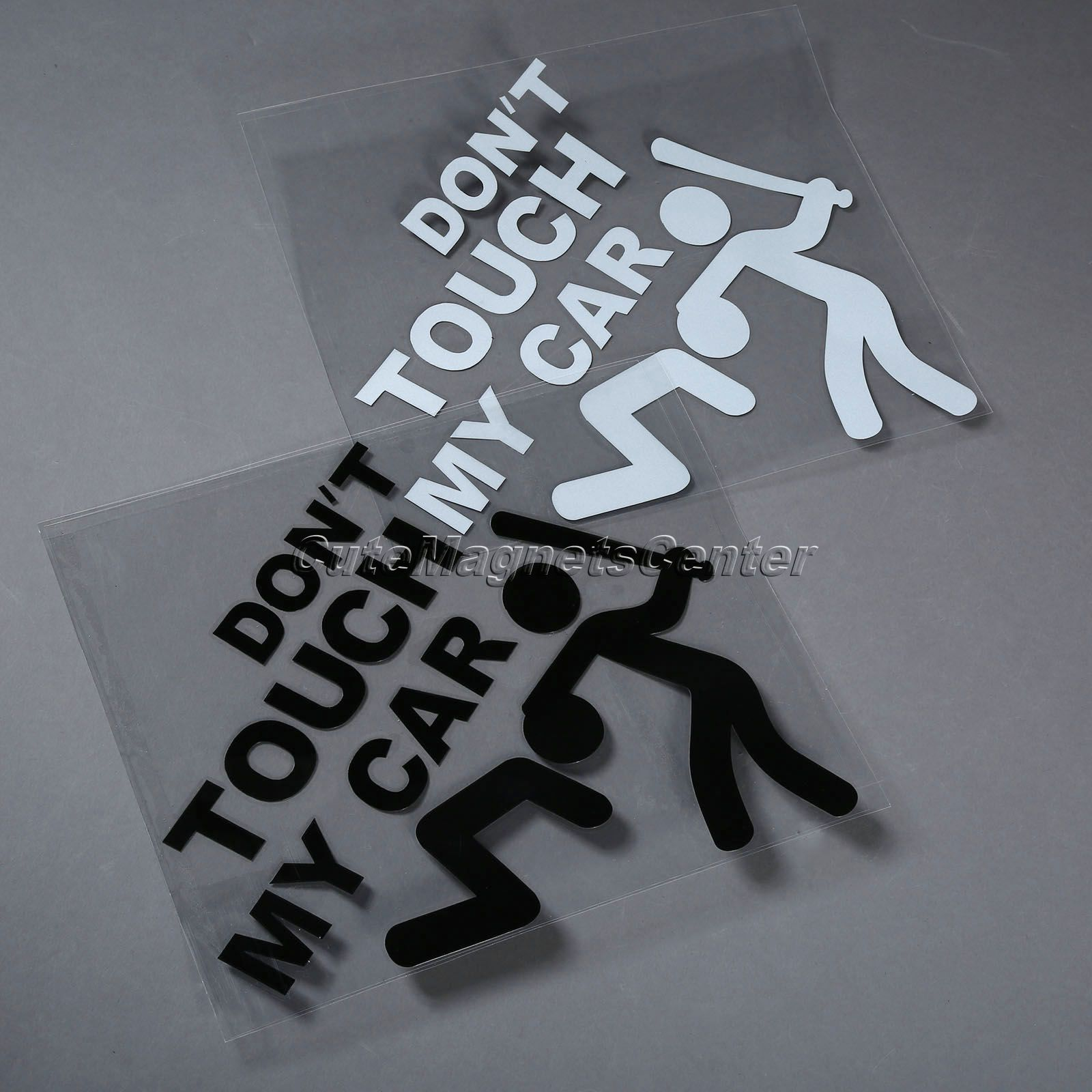 Pc WhiteBlack DONT TOUCH MY CAR Auto Truck Vinyl Decals On Cars - Vinyl decals for my car