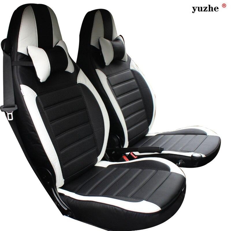 Yuzhe Cuoio copertura di sede dell'automobile Per Mercedes-Benz smart fortwo smart forfour accessori Car Styling Cuscino