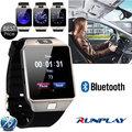 Runplay DZ09 Blurtooth Smart Watch with Camera SIM/TF Phone Watch Wristwatch for Iphone Xiaomi Samsung Phone Android Smartwatch
