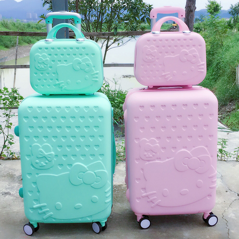 Compare Prices on Hello Kitty Luggage Sets- Online Shopping/Buy ...