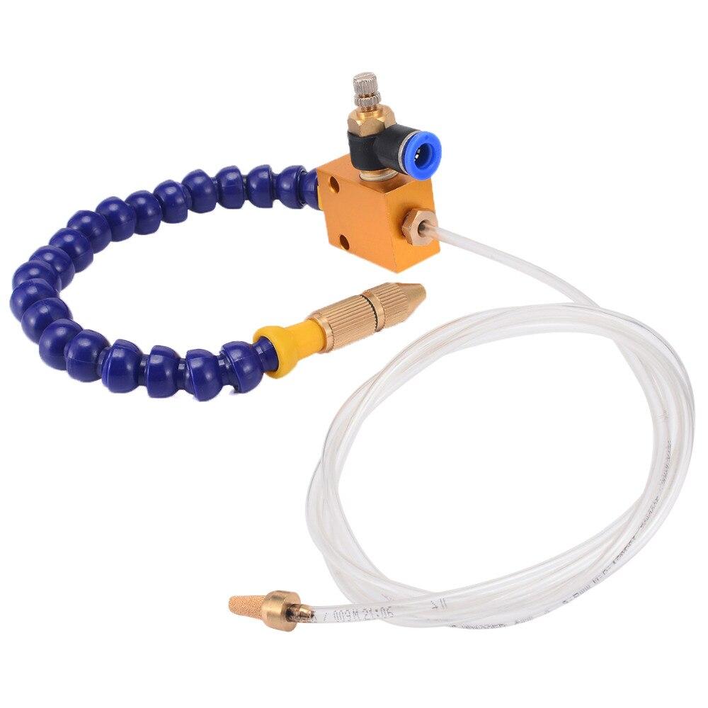 Multi-funktion Nebel Kühlmittel Schmierung Spray System Einheit Luft Schlauch Rohr für CNC Drehmaschine Fräsen Maschine Mayitr Kühlmittel Beschlagen