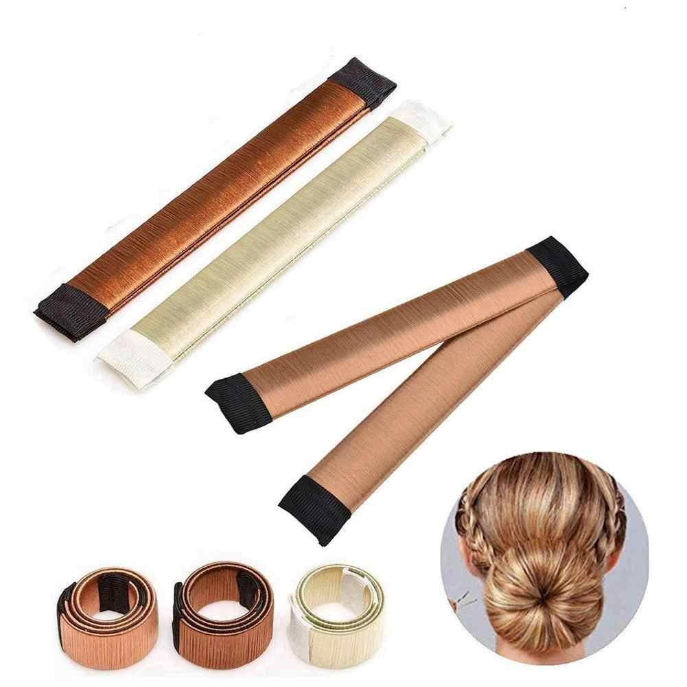 Fashion Women French Twist Hair Bun Maker DIY Hairstyling Donut Braid Accessory Beauty