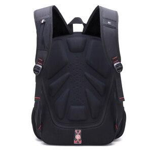 Image 5 - Waterproof Oxford Swiss Backpack Men 17 Inch Laptop backpacks Travel Rucksack Female Vintage School Bags Casual bagpack mochila