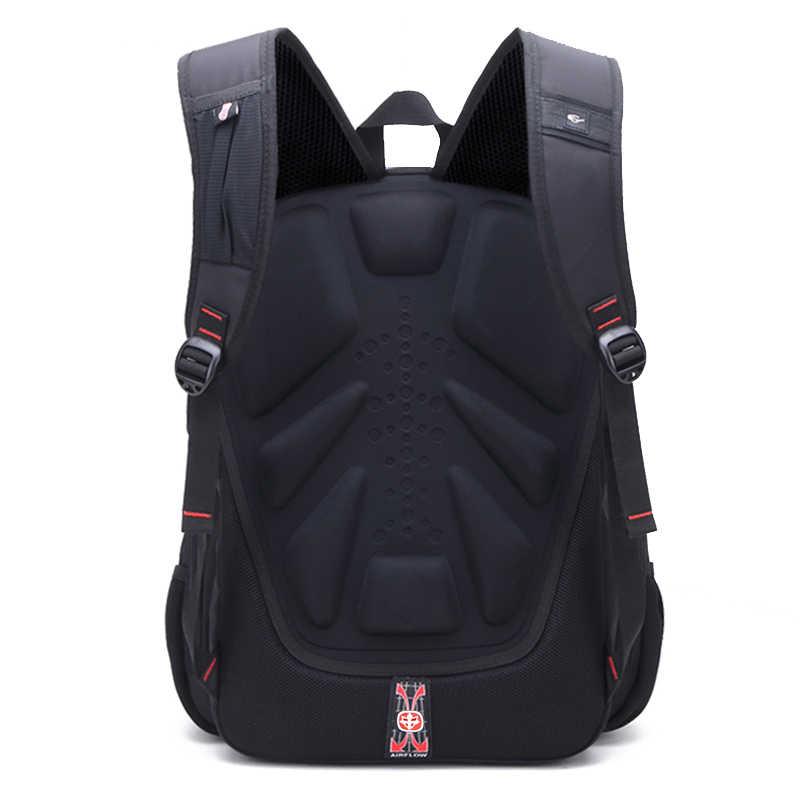 Wodoodporny plecak Oxford Swiss mężczyźni 17 Cal plecaki na laptopa plecak podróżny damskie torby szkolne w stylu Vintage Casual bagpack mochila