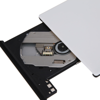 Ultra Slim External Slim USB 3 0 DVD RW CD ROM Burner Recorder IDE Chip Optical