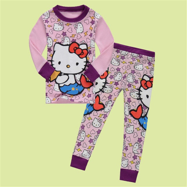 spring autumn Babys Sleepwear Cotton Pyjamas girls Clothing high-quality Baby Sets Underwear suits kids pajama sets 2-7y b01