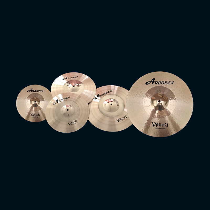 Drum cymbal Viking Series Cymbal Set new design drum cymbal 16 china ozone cymbal