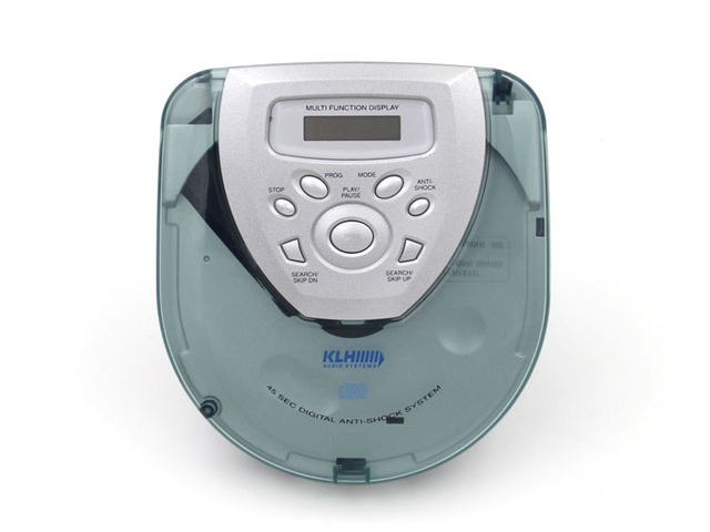 Transparent Portable CD Player Walkman CD player CD R/CD RW-in CD