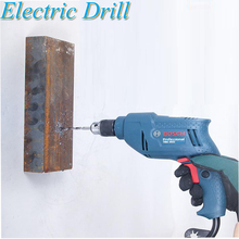 купить Electric Drill Pistol Drill Multi-function Electric Screwdriver Home 220V Electric Drill Tool TBM3500 дешево